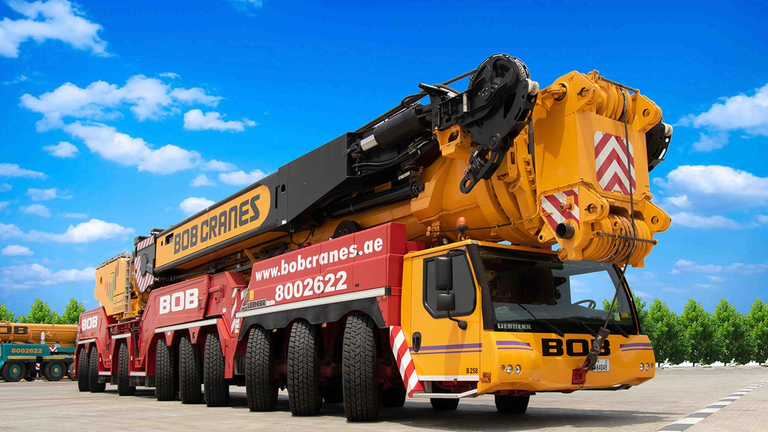 Upgraded Now to 800 Ton mobile crane addition to our fleet