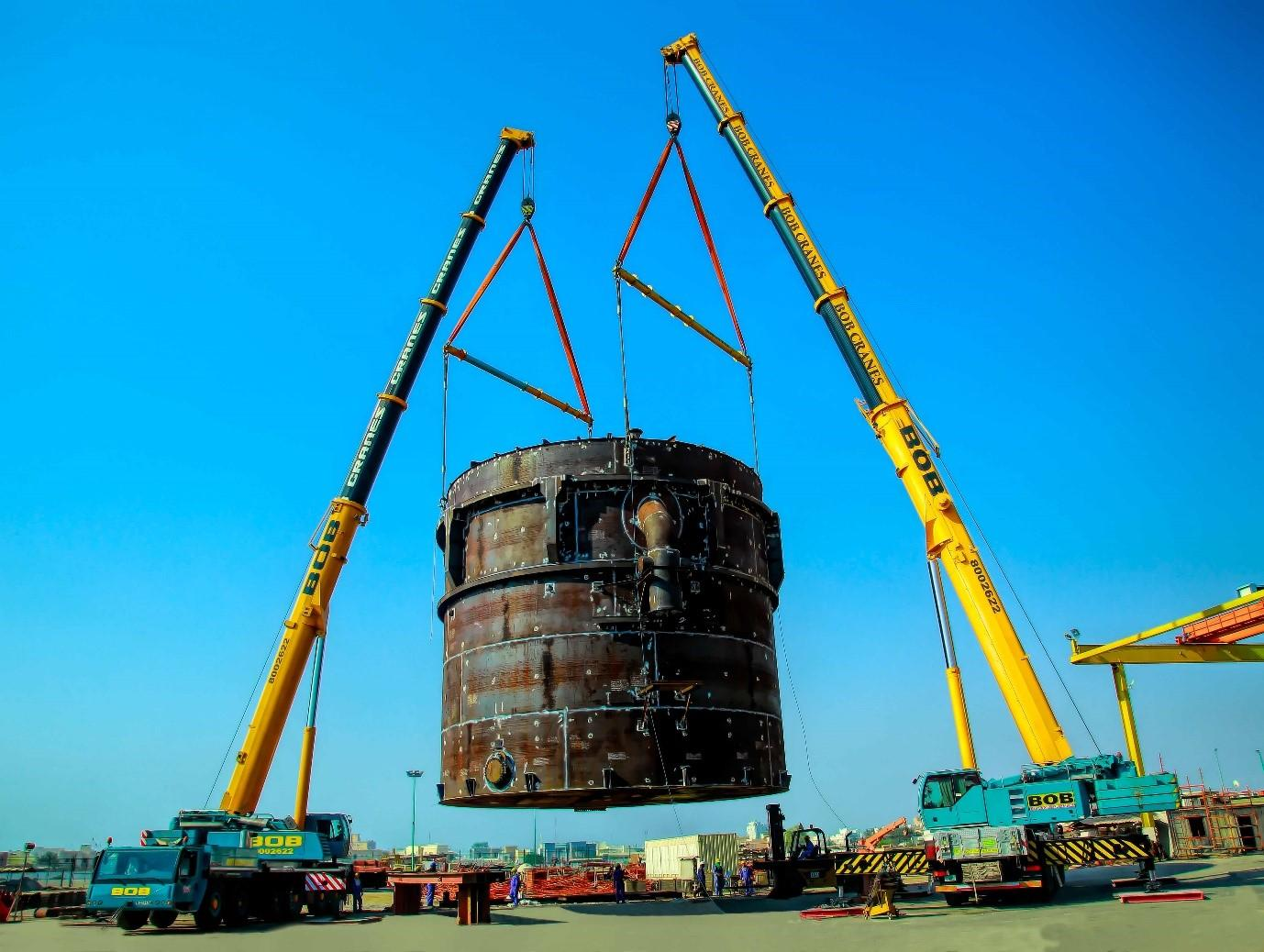 When Hiring Heavy Equipment Movers; Type of Cranes They Use